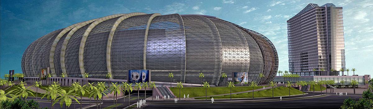 Stadium in Los Angeles